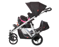 Sleek & Compact Pushchair