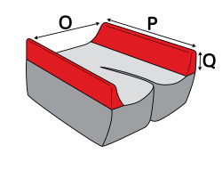 Custom Lateral Thigh Supports