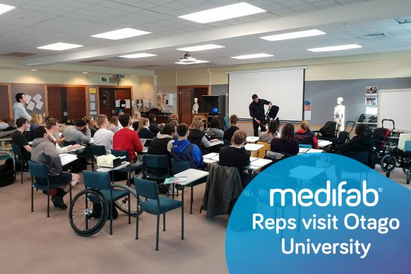 Medifab Reps Present at Otago University