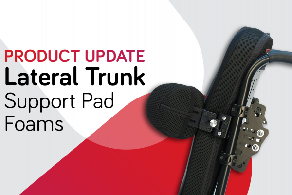 Lateral Pad Foam Update