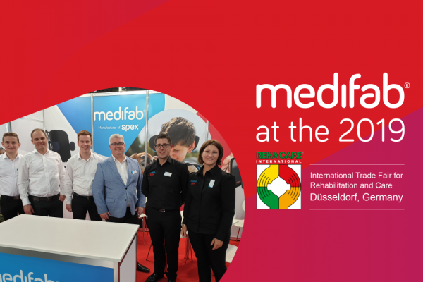 Medifab at Rehacare 2019