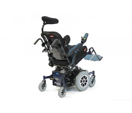 Spex Classic Back Support on a powerchair