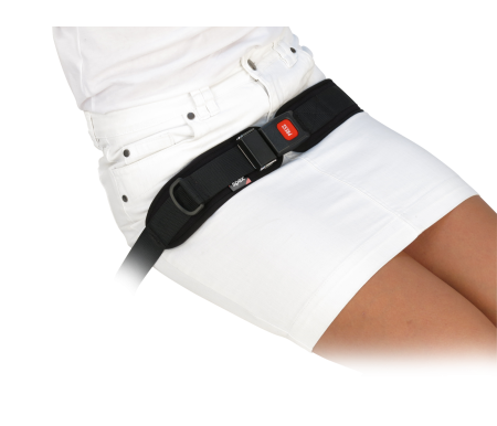 Spex 2 Point Centre Pull Padded Hip Belt - Centre Release Buckle