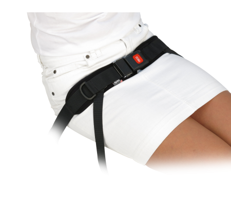 Spex 4 Point Centre Pull Padded Hip Belt - Centre Release Buckle