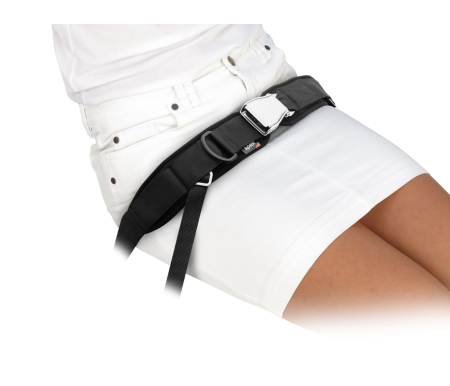 Spex 4 Point Centre Pull Padded Hip Belt - Easy Release Latch Buckle