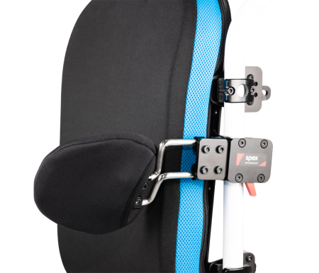Spex Quick-Release Axial Fixed Angle Back Mount Lateral Support