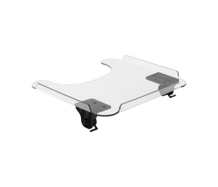 Tray with Slide & Lock hardware